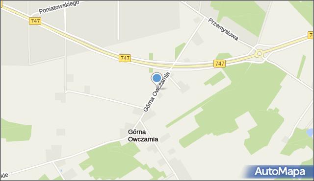 Górna Owczarnia, Górna Owczarnia, mapa Górna Owczarnia
