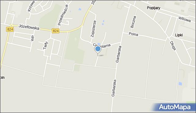 Opole Lubelskie, Górna, mapa Opole Lubelskie