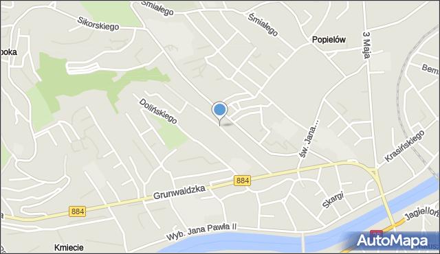 Przemyśl, Goszczyńskiego Seweryna, mapa Przemyśla