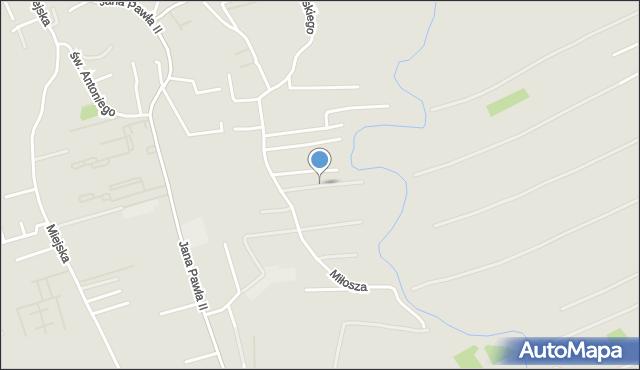Rzeszów, Gombrowicza Witolda, mapa Rzeszów