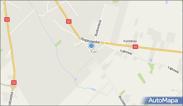 Sokołów Podlaski, Górskiego Ludwika, mapa Sokołów Podlaski