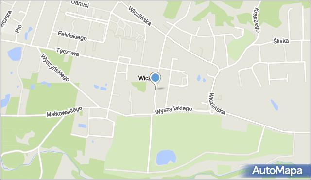 Gdynia, Gradowa, mapa Gdyni