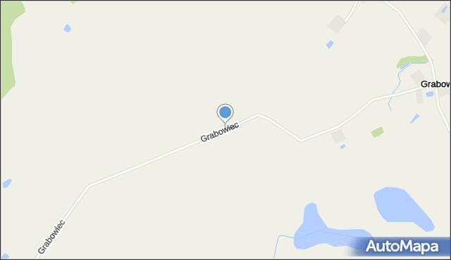 Grabowiec gmina Grudziądz, Grabowiec, mapa Grabowiec gmina Grudziądz