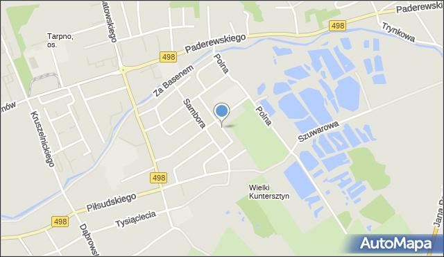 Grudziądz, Gromady Grudziąż, mapa Grudziądza