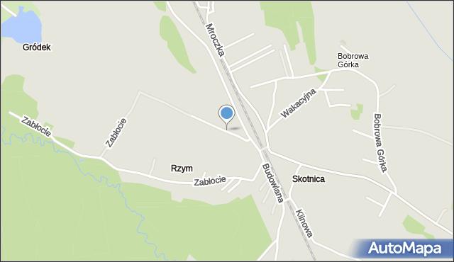 Jaworzno, Gródek, mapa Jaworzno