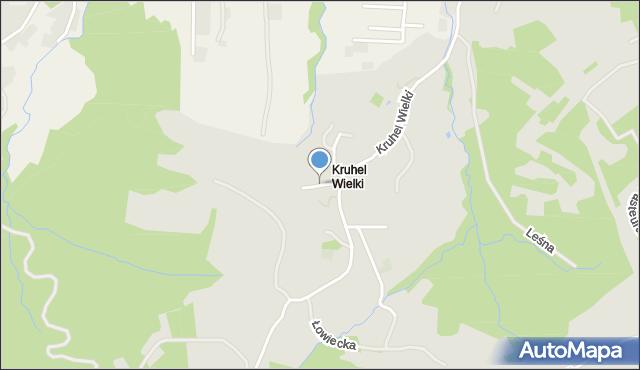 Przemyśl, Grabowa, mapa Przemyśla