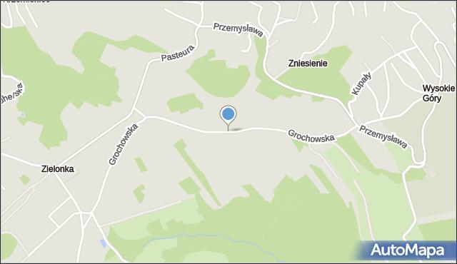Przemyśl, Grochowska, mapa Przemyśla