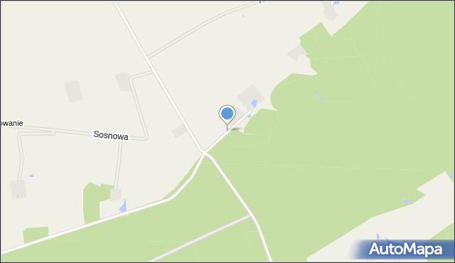Tępcz, Graniczna, mapa Tępcz