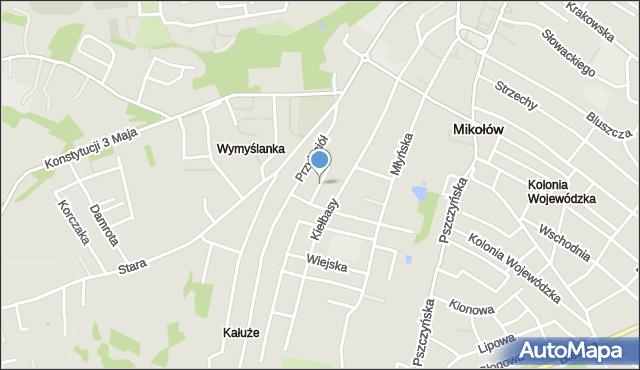 Mikołów, Gwarków, mapa Mikołów