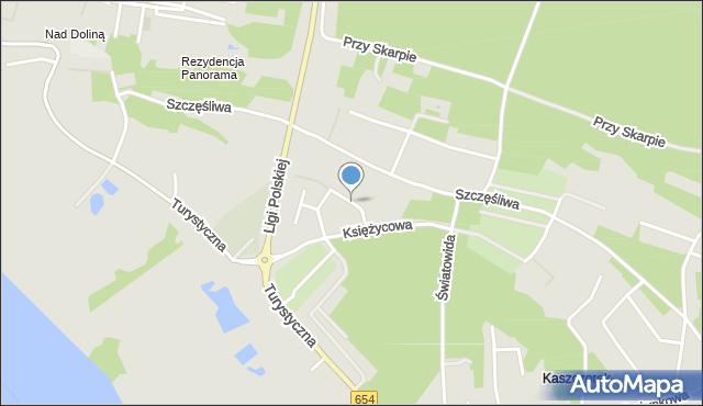 Toruń, Gwiaździsta, mapa Torunia