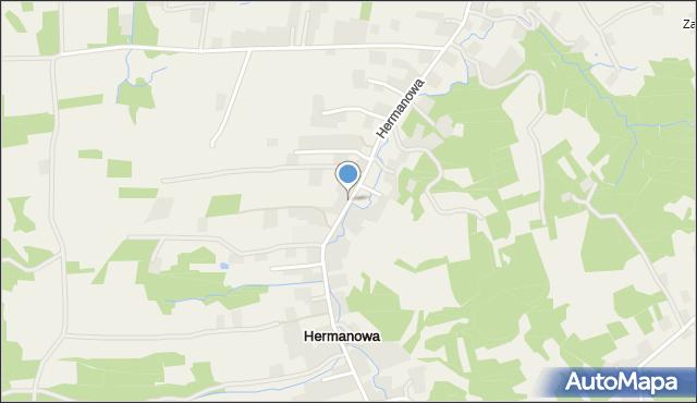 Hermanowa, Hermanowa, mapa Hermanowa