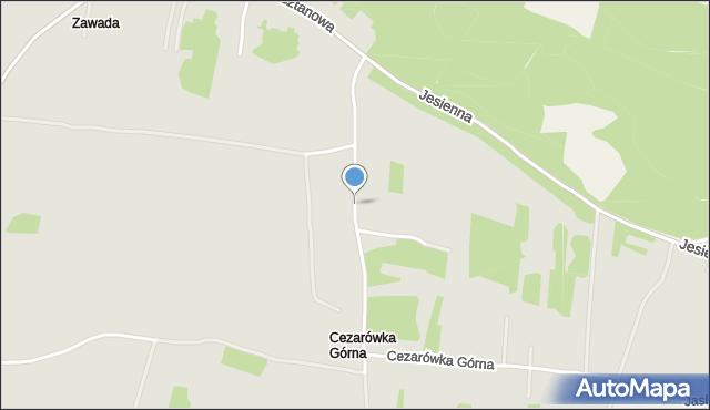 Jaworzno, Herbowa, mapa Jaworzno