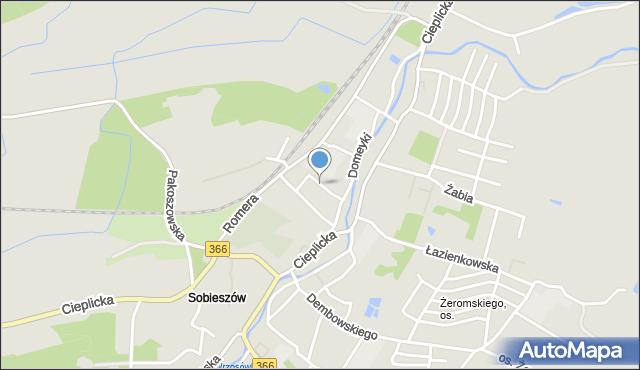 Jelenia Góra, Heweliusza Jana, mapa Jelenia Góra