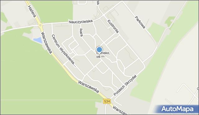 Grudziądz, Ikara, mapa Grudziądza