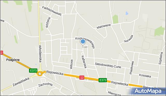 Chełm, Irysowa, mapa Chełma