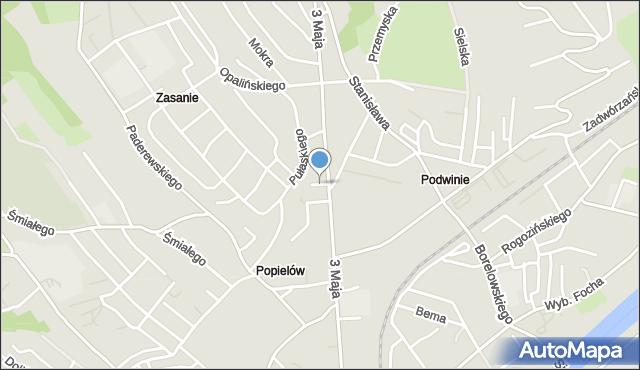 Przemyśl, Iwaszkiewicza Jarosława, mapa Przemyśla