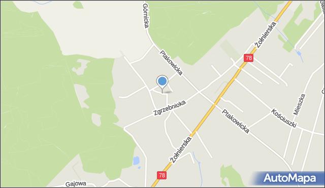 Bytom, Jasna, mapa Bytomia