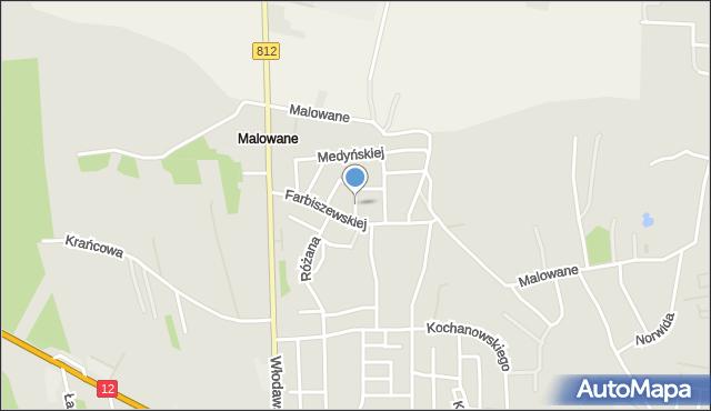 Chełm, Janowskiego Aleksandra, mapa Chełma