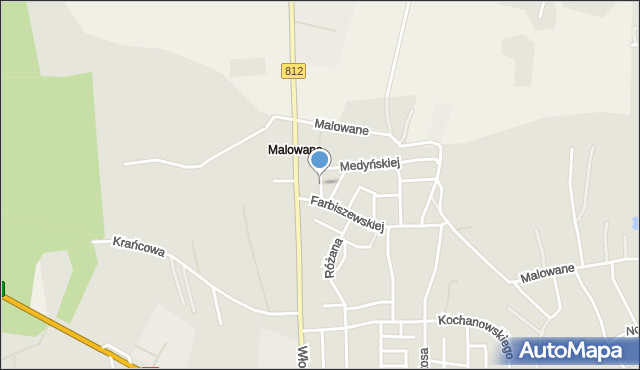 Chełm, Jaraczewskiej Elżbiety, mapa Chełma