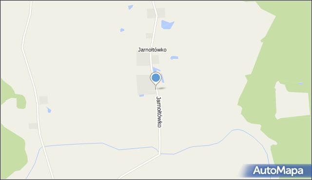Jarnołtowo, Jarnołtówko, mapa Jarnołtowo