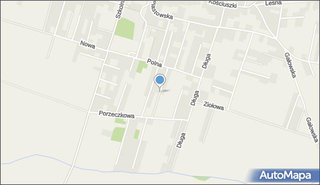 Lutynia gmina Miękinia, Jagodowa, mapa Lutynia gmina Miękinia