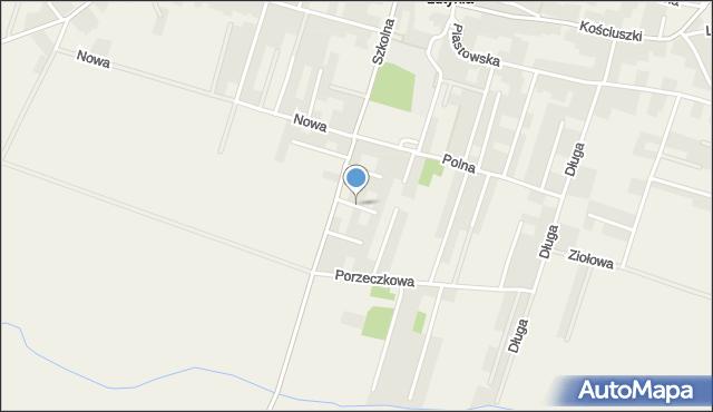 Lutynia gmina Miękinia, Jaśminowa, mapa Lutynia gmina Miękinia