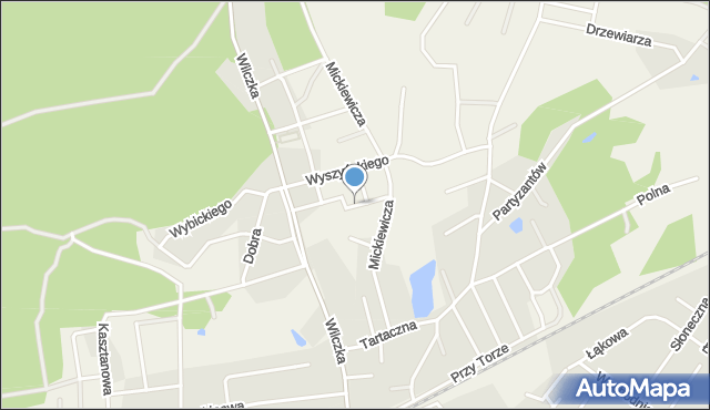 Luzino, Jastaka, ks., mapa Luzino