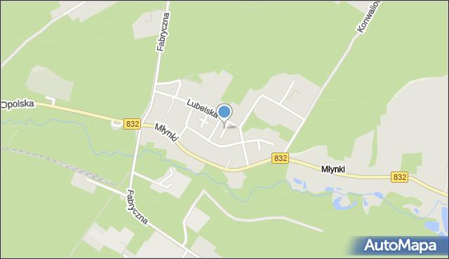 Poniatowa powiat opolski, Jasna, mapa Poniatowa powiat opolski