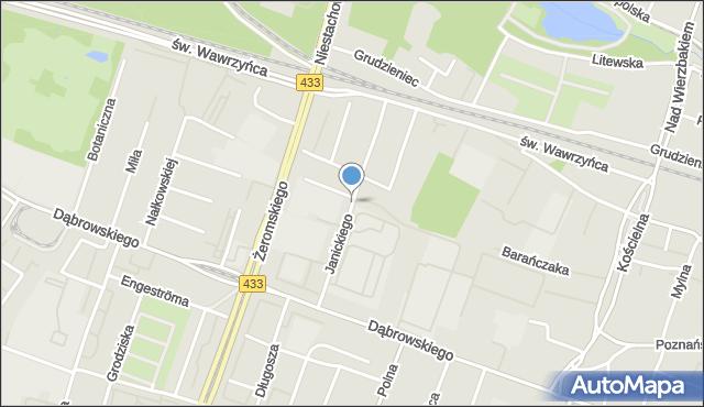 Aktualne Janickiego Klemensa Poznań (Poznań-Jeżyce), Ulica, 60-542 NG64