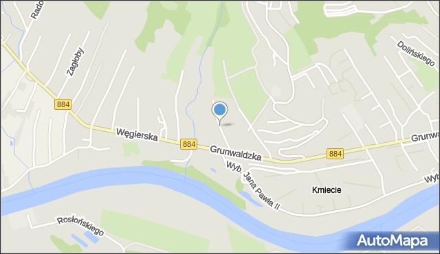 Przemyśl, Jasna, mapa Przemyśla