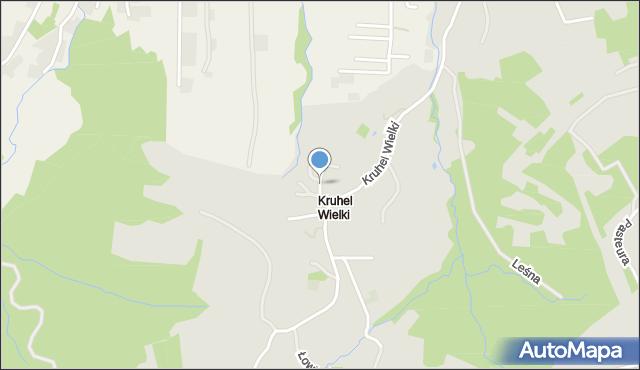Przemyśl, Jastrzębia, mapa Przemyśla