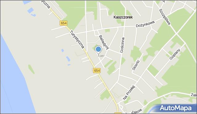 Toruń, Jasia i Małgosi, mapa Torunia