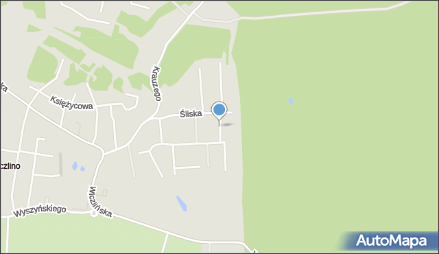 Gdynia, Jutrzenki, mapa Gdyni