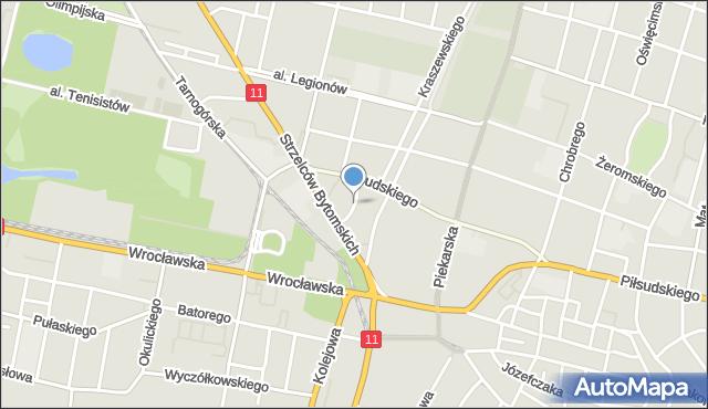Bytom, Kasperka Jana, mapa Bytomia