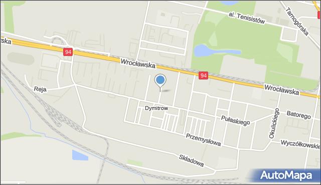 Bytom, Kasprowicza Jana, mapa Bytomia