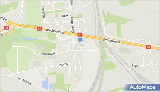 Bytom, Karlika, mapa Bytomia