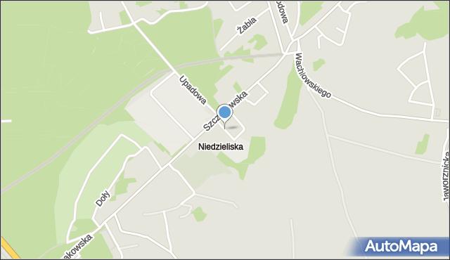 Jaworzno, Kasprzaka Marcina, mapa Jaworzno