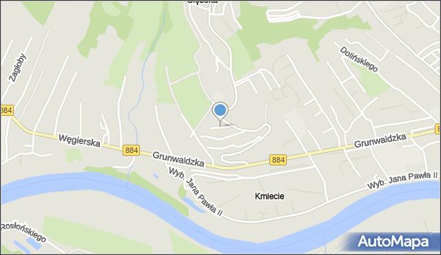 Przemyśl, Kadyi Henryka, mapa Przemyśla