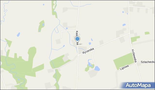 Robakowo gmina Luzino, Kaszubska, mapa Robakowo gmina Luzino