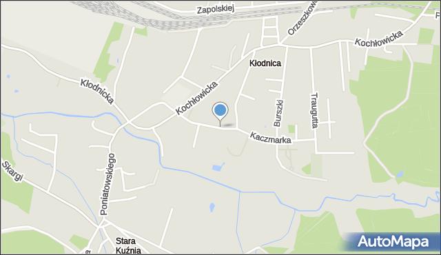 Ruda Śląska, Kaczmarka Ignacego, mapa Rudy Śląskiej