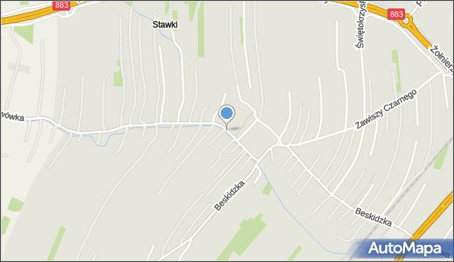 Rzeszów, Karkonoska, mapa Rzeszów