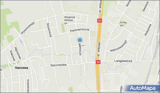 Rzeszów, Kaletnicza, mapa Rzeszów