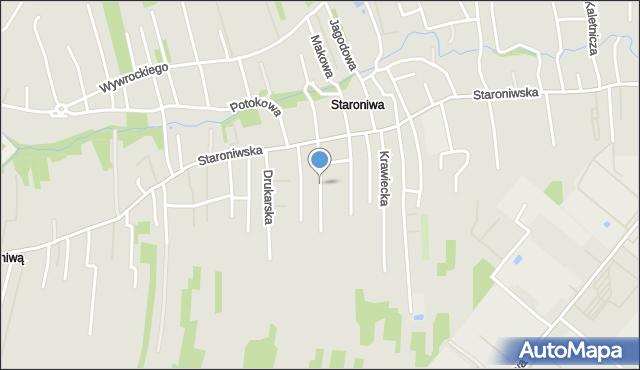 Rzeszów, Kamieniarska, mapa Rzeszów