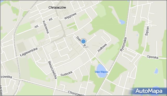 Świętochłowice, Karpacka, mapa Świętochłowice