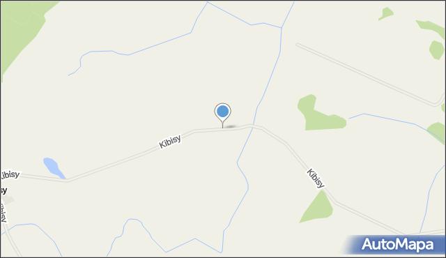 Kibisy, Kibisy, mapa Kibisy