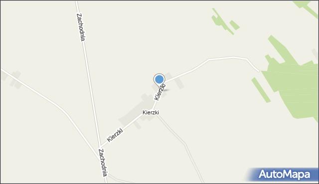 Wrzelowiec, Kierzki, mapa Wrzelowiec