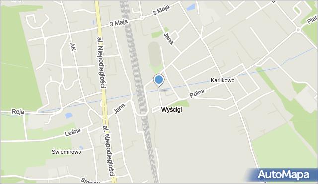 Sopot, Klenczona Krzysztofa, mapa Sopotu