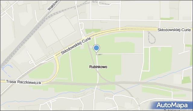 Toruń, Klonowa, mapa Torunia
