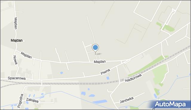 Chełm, Kmicic-Skrzyńskiego Ludwika, gen., mapa Chełma