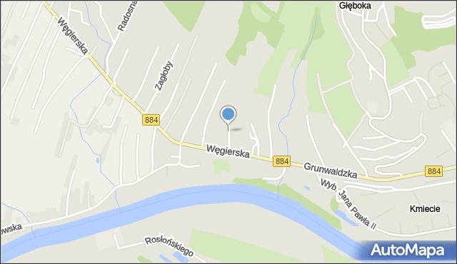 Przemyśl, Kmicica Andrzeja, mapa Przemyśla
